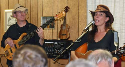 October 18, 2009 - Allison Downey w/John Austin
