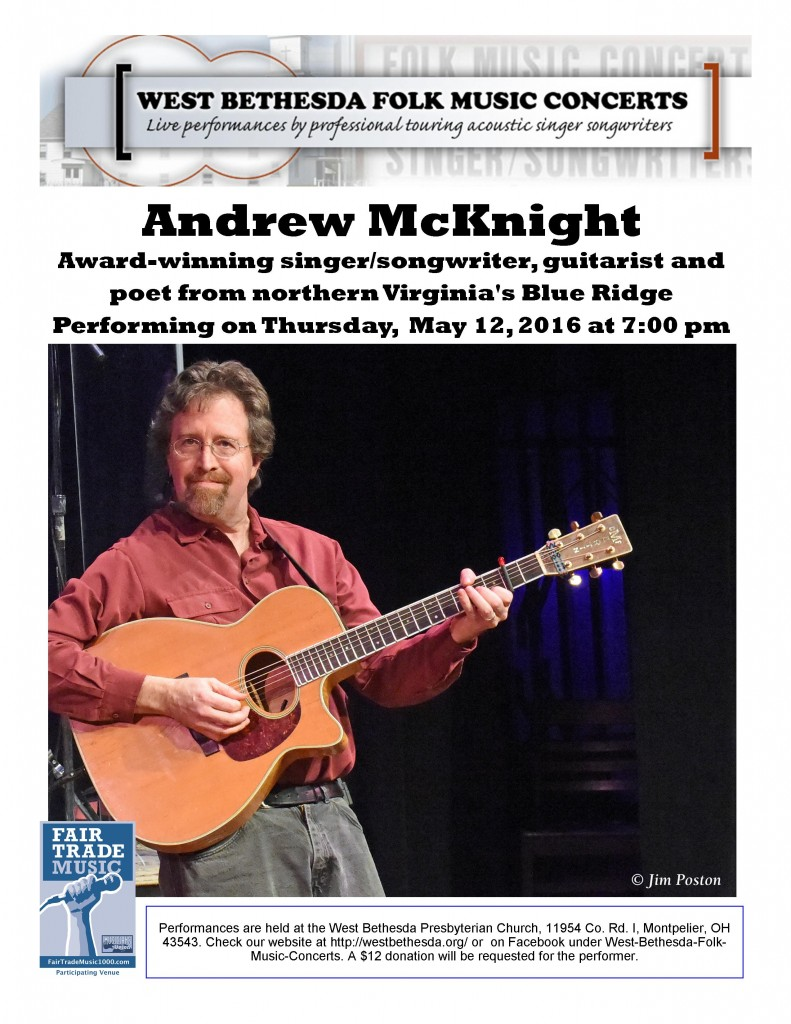 Andrew McKnight May 2016